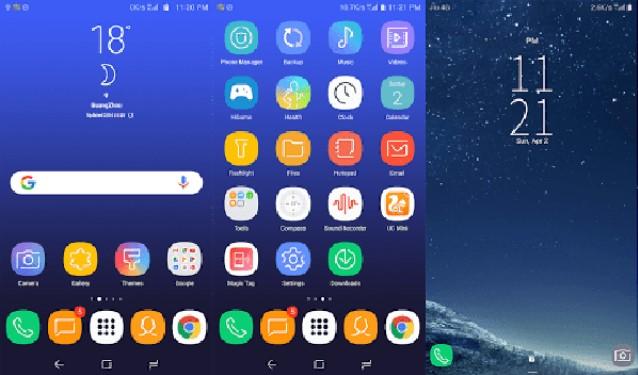 Tema Xiaomi MIUI 8 / MIUI 9 Terbaik dan Populer - Samsung S8
