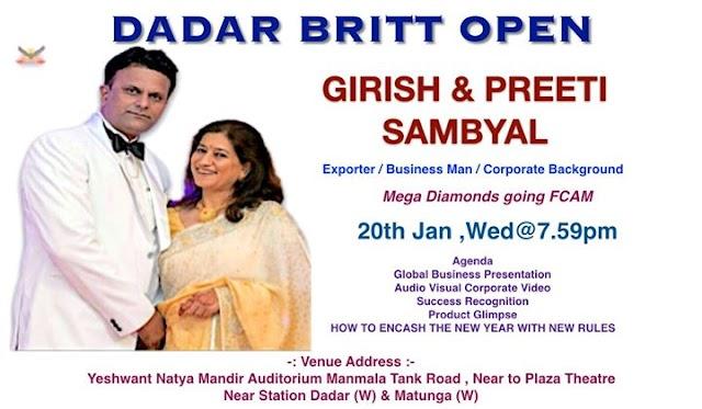 Bww Girish & Priti Sambyal