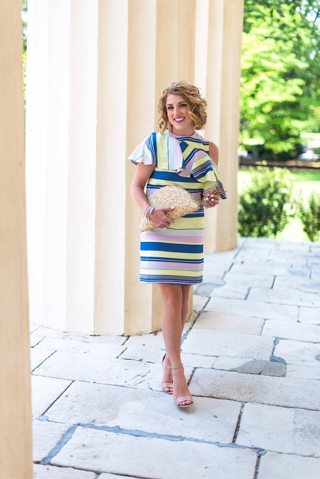 What to wear to a summer wedding - Click through to see more on Something Delightful Blog!