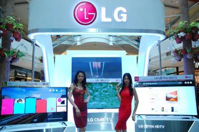 LG Luncurkan TV Ultra HD dan Curved OLED Terbaru