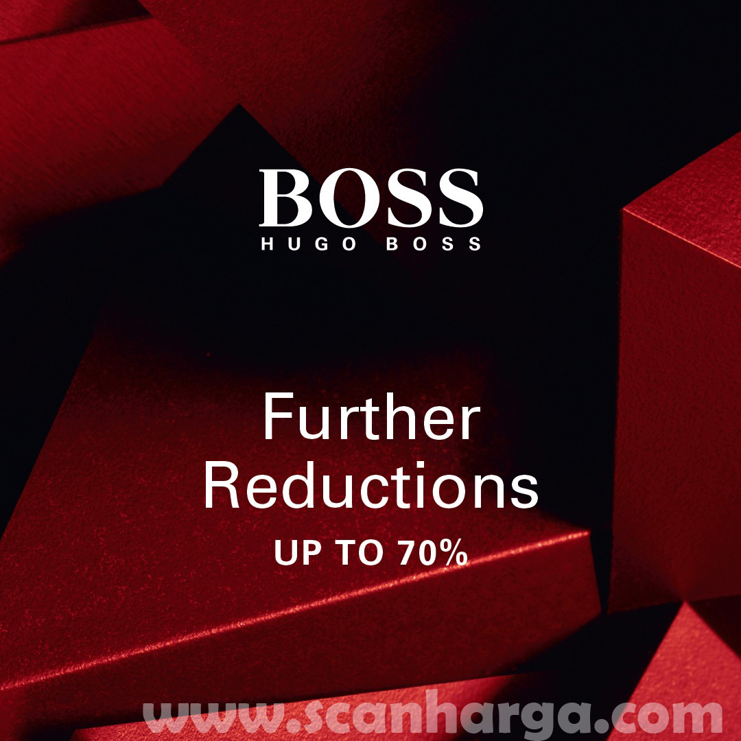 Promo HUGO BOSS Further Reductions Up To 70%