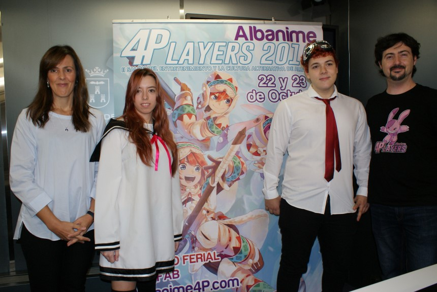 LLEGA A ALBACETE LA II EDICIÓN ALBANIME 4 PLAYERS 2016