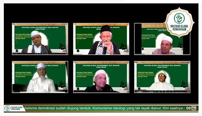 Ulama Aswaja Jawa Timur Menggelar Multaqo Mengambil Tema Menatap Masa Depan Dengan Islam
