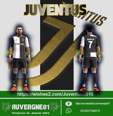 PES 2013 Kitpack Season 2019/2020 by Auvergne81