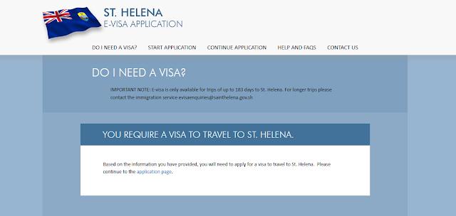 الدول المعفاة من تأشيرة سانت هيلينا2