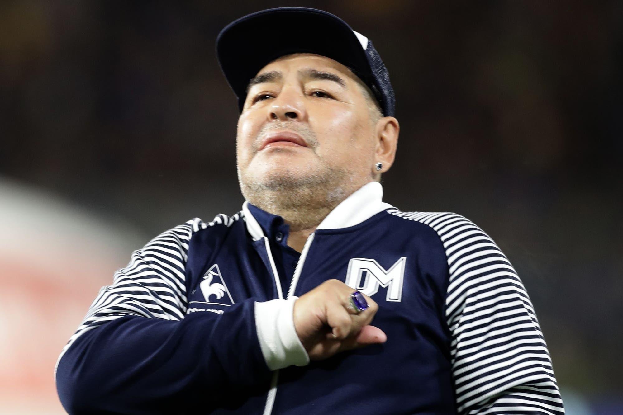 La salud de Maradona