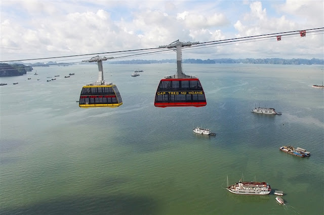 Pleasant experience with slings Halong 2