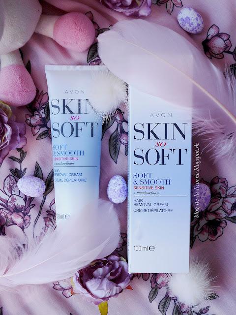 Avon Skin So Soft Smooth depilačný krém pre citlivú pokožku recenzia