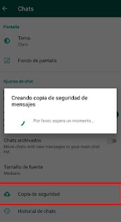 como recupero archivos borrados de WhatsApp