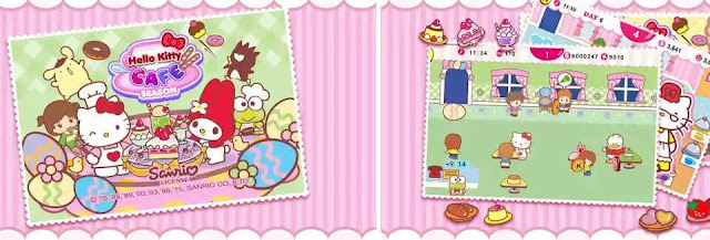 Game Hello Kitty Cafe Season