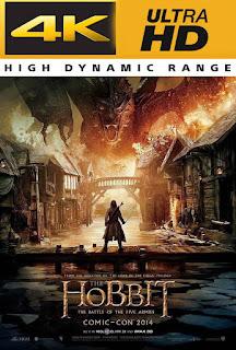 El Hobbit 3 (2014) 4K UHD Latino Version Extendida