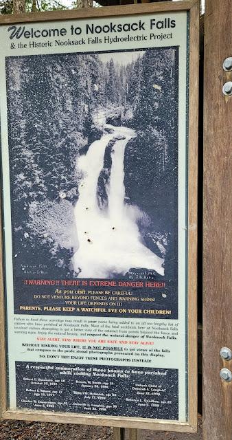 Information on Nooksack Falls