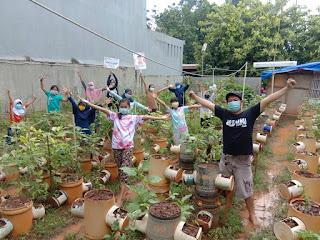 Karang Taruna Desa Linau mendapat Apresiasi serta dukungan dari Pengurus BALE BUKU JAKARTA