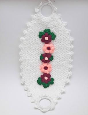 Çeyizlik çiçekli kayık desenli lif modeli