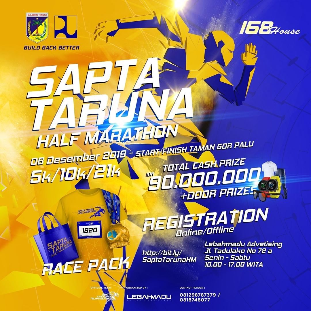Sapta Taruna Half Marathon • 2019