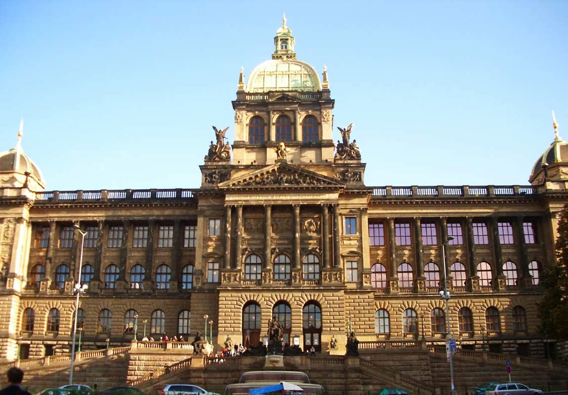 Nationalmuseum in Prag am Wenzelsplatz