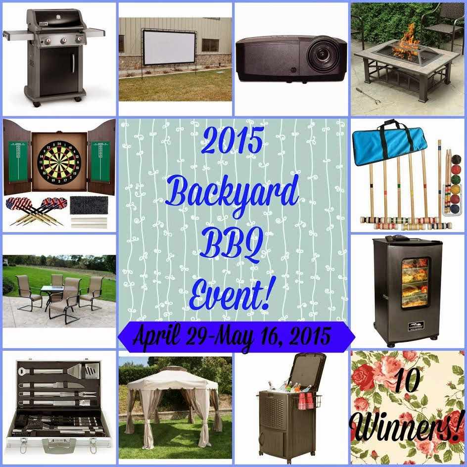Enter the Backyard BBQ Giveaway. Ends 5/16