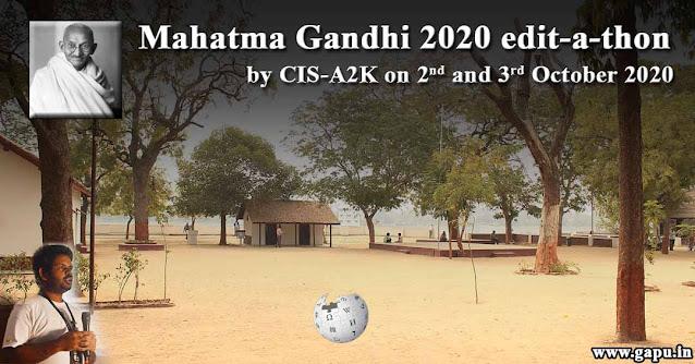 My Experience Mahatma Gandhi 2020 edit-a-thon