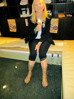 Pat Dunlap Eaten Alive Baby Kao Foot Treatment Osaka Japan