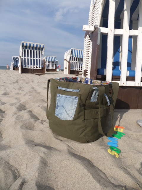 Beach-Bag upcycling