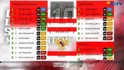 DLS 19 Full Timnas Indonesia Apk Data Graphic HD