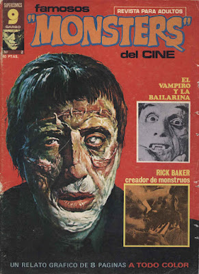 Famosos 'Monsters' del Cine Nº2 / Portada