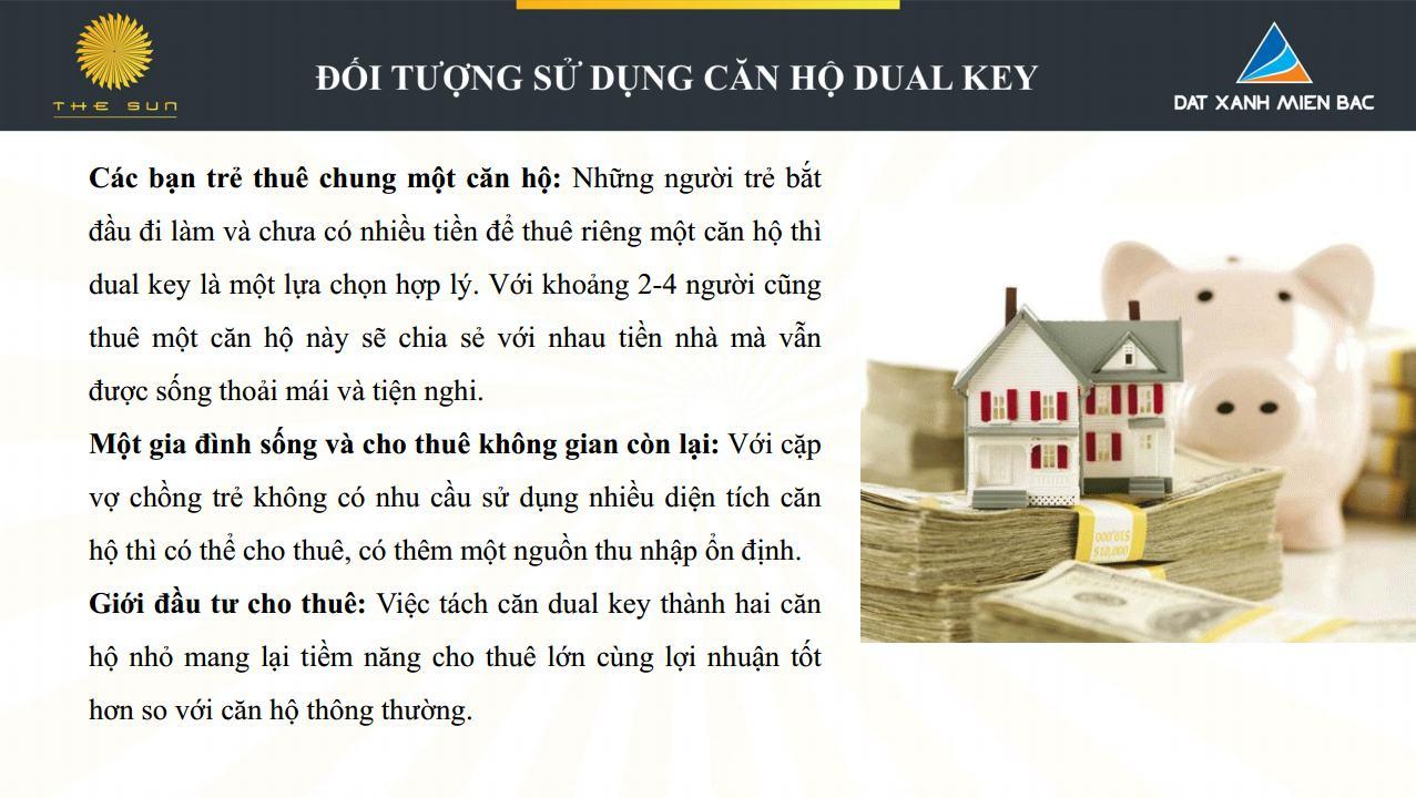 đối tượng sử dụng căn hộ dual key