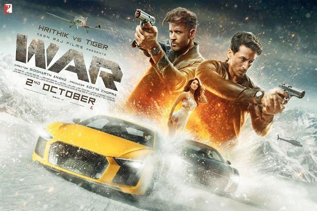 Hrithik Roshan,Tiger Shroff,Vaani Kapoor - War Bollywood Movie 2019