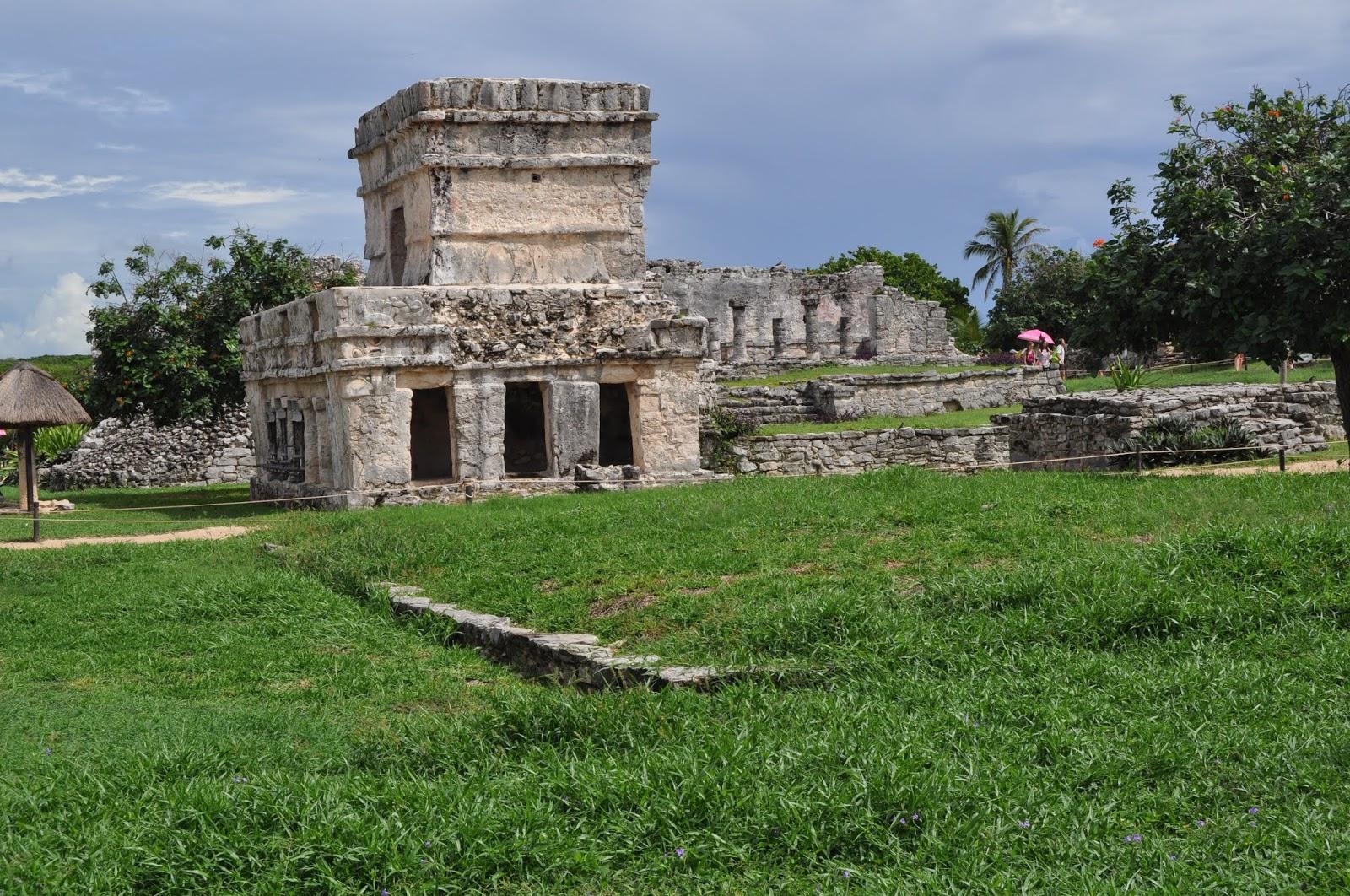 Foto Templo de las pinturas Tulum