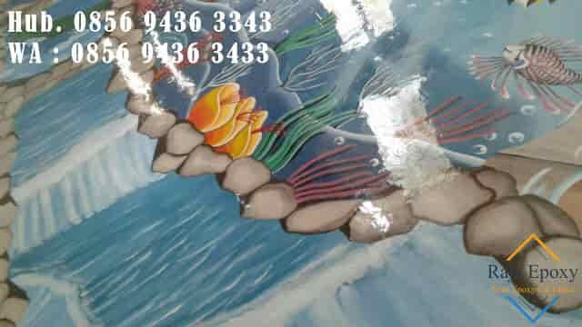 Jasa Epoxy Lantai 3D (tiga dimensi)