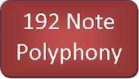 ES520 192-note polyphony