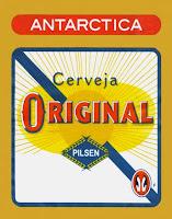 Cerveja Antarctica Rotulo Vetor