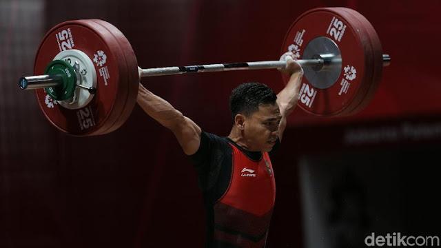 Emas Kelima Berhasil Diperoleh Eko Yuli Untuk Indonesia di Asian Games 2018