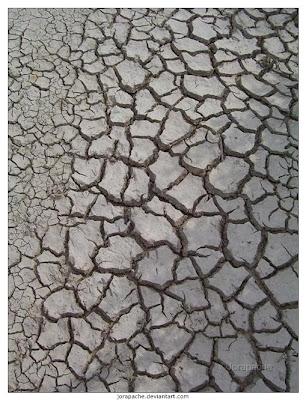Texturas de tierra seca