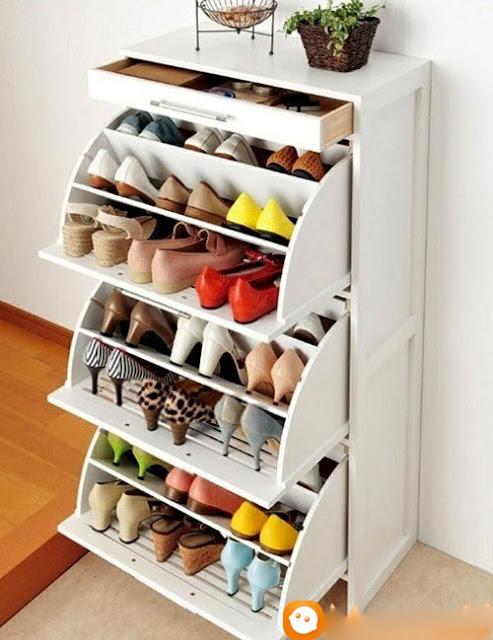 Lựa chọn chiều cao lý tưởng cho tủ giày