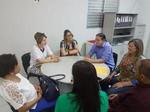 Prefeito de Caxias, Fábio Gentil, se reúne com representantes do Governo do Estado e do Ministério da Saúde para tratar da abertura da UNACON