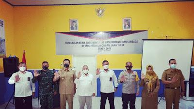 Tim Sinergisitas Kementerian/Lembaga Lakukan Kunjungan Kerja ke Lamongan