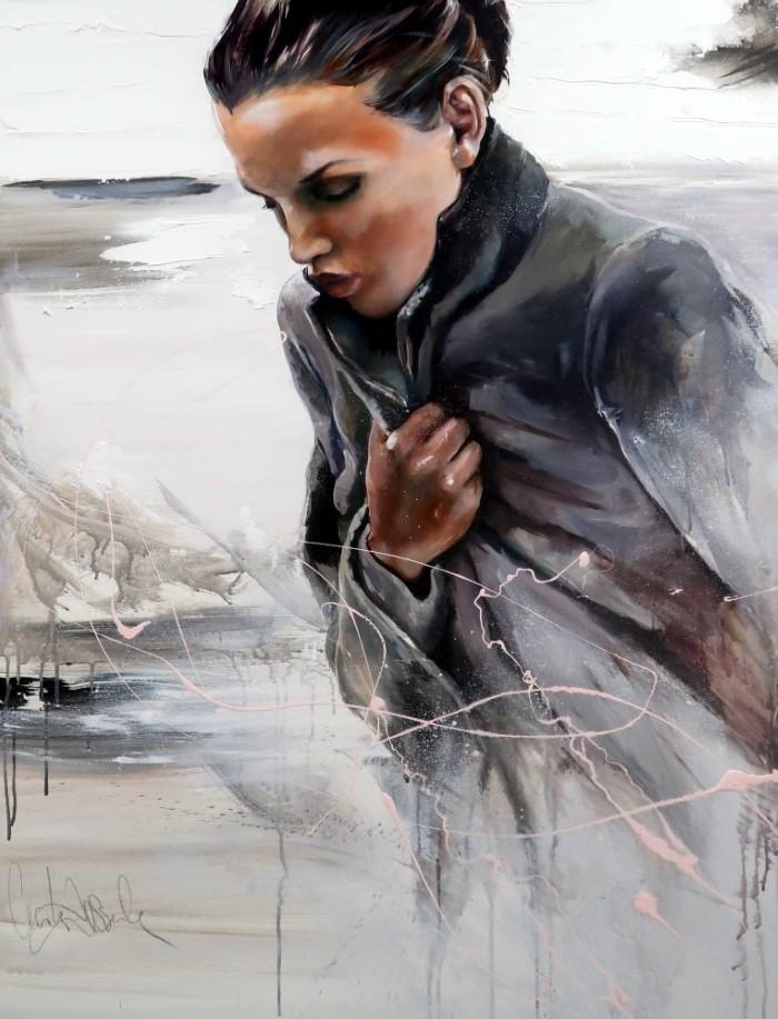 Притягательность и чувственность женщин. Cecile Desserle