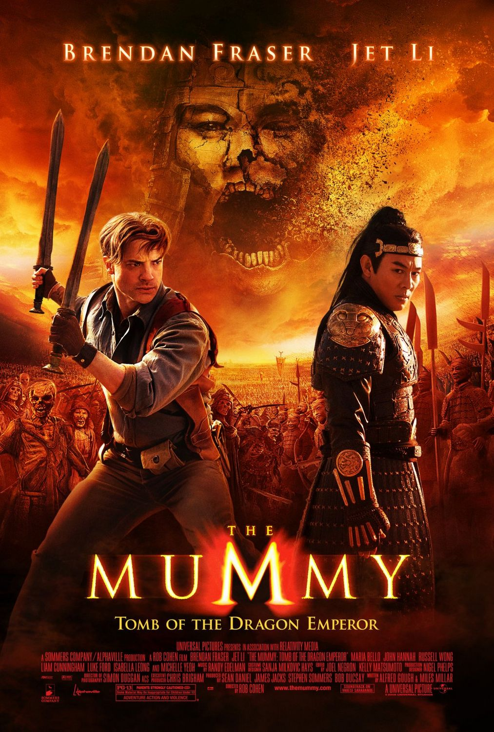 Nonton Film The Mummy: Tomb of the Dragon Emperor (2008)