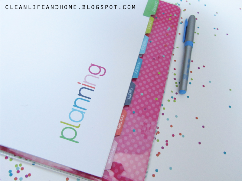 Clean Life And Home Freebie Friday Printable Divider