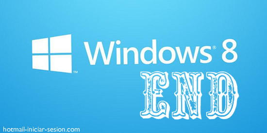 fin de windows 8 en hotmail iniciar sesion
