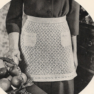 Crochet Lace Apron Pattern