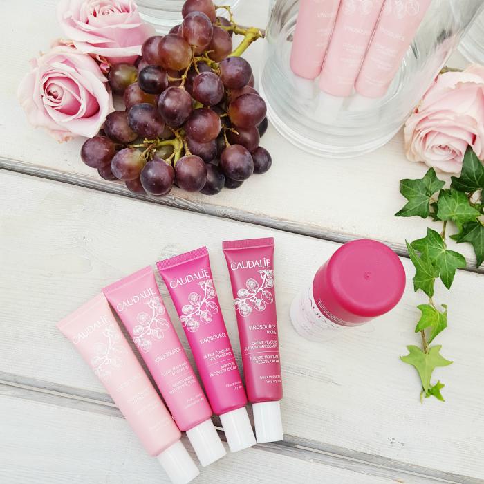 Caudalie - Vino Source #LifeisBetterinPink Blogger Event - Pflege Cremes für verschiedene Hauttypen