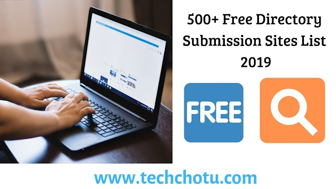 500+ Free Directory Submission Sites List 2019