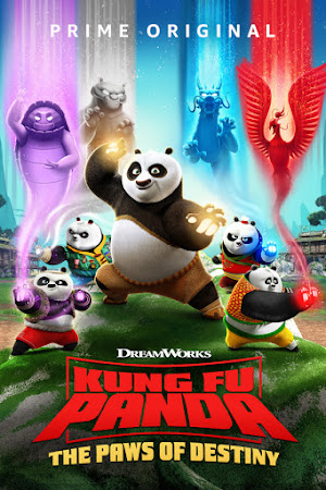 Poster Of Kung Fu Panda: The Paws of Destiny 2019 Watch Online Free Download
