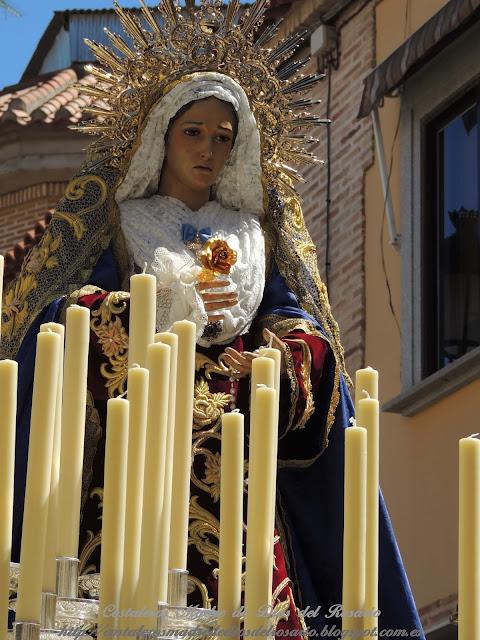 Crónica de la Semana Santa: Salida de la Borriquita y Virgen de la Soledad. parte IV