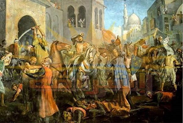 معركة المنصورة واسر لويس التاسع