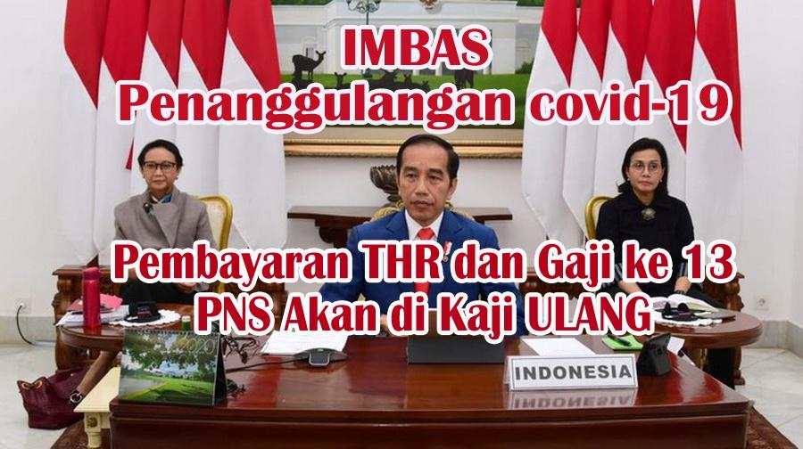 Gawat!! THR PNS & Gaji 13 Terancam Tak Dibayar Pemerintah
