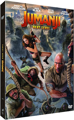 Jumanji Next Level DVD CINEBLOGYWOOD