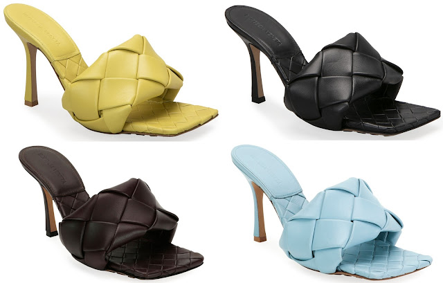Shoeography Shoe of the Day | Bottega Veneta Puffy Intreccio Square Mules
